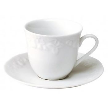 Xicara para Café  Porcelana Blanc California120 ml - Limoges