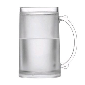 Caneca New Frosty Clear Acrilico 470ml - Kenya