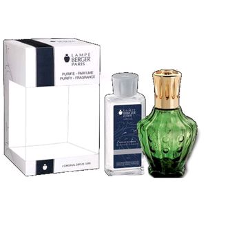 Kit Clochette Verte Tampa Dourada 180 ML - Lampe Berger